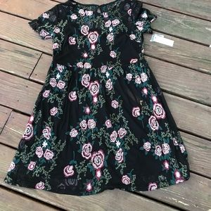 Worthington women's embroidered dress! Sz -10-NWT